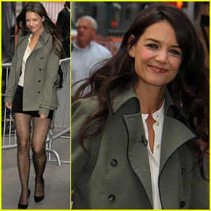 Katie Holmes & Bobbi Brown Give Makeovers on 'GMA'!