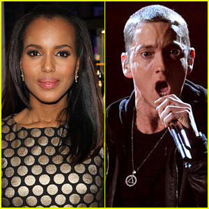 Kerry Washington & Eminem Set for 'Saturday Night Live'!