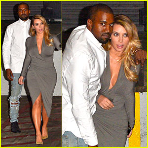 Kim Kardashian & Kanye West: LA Opera Date Night!