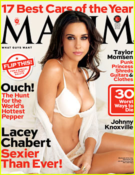 Mean Girls' Lacey Chabert: Bra & Underwear for 'Maxim' Mag!
