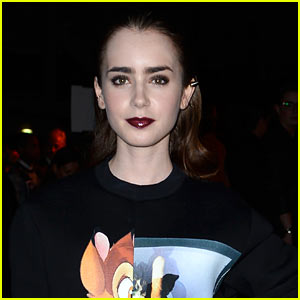 Lily Collins: Lancome's Newest Face!