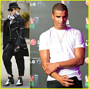 Madonna & Brahim Zaibat: Separate Country Outings!