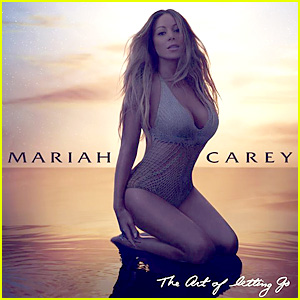 Mariah Carey Rocks Swimsuit for 'Art of Letting Go' Single Cover