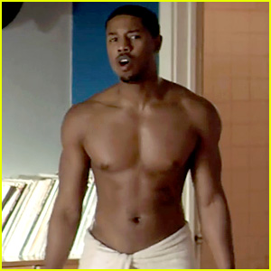Michael B. Jordan: Shirtless in 'That Awkward Moment' Clip!
