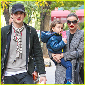 Miranda Kerr & Orlando Bloom Reunite After Split!