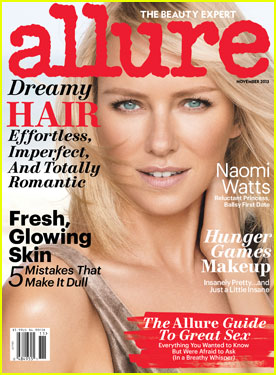 Naomi Watts Covers 'Allure' Magazine November 2013