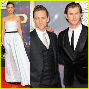 Natalie Portman & Chris Hemsworth: 'Thor' Berlin Premiere