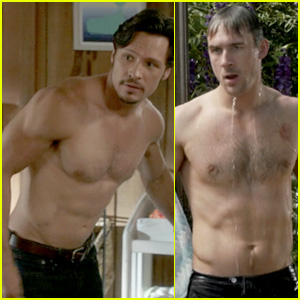 Nick Wechsler & Barry Sloane: Revenge's Shirtless Studs!