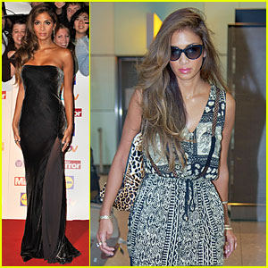 Nicole Scherzinger: Sheer Dress at Pride of Britain Awards!