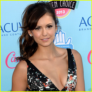 Nina Dobrev Goes Topless to Support Obamacare (Photo)