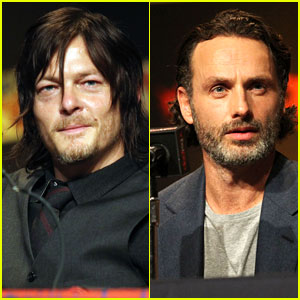 Andrew Lincoln & Norman Reedus: 'Walking Dead' at NYCC