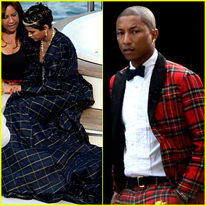 Pharrell Williams Marries Helen Lasichanh: See Wedding Photos!