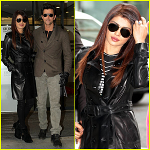 Priyanka Chopra Promotes Bollywood Film 'Krrish 3' in London
