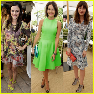 Camilla Belle & Rachel Bilson: CFDA & Vogue Fashion Fund 2013