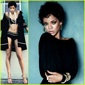 Rihanna's 'Glamour' November 2013 Inside Pictures!