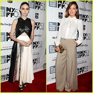 Rooney Mara & Olivia Wilde: 'Her' NYFF Premiere!