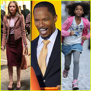 Rose Byrne & Jamie Foxx Film 'Annie' Before the Weekend!