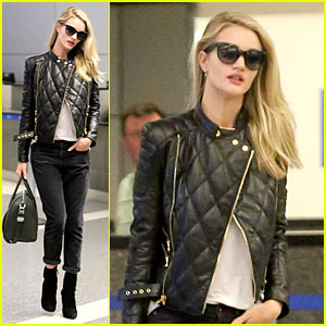 Rosie Huntington-Whiteley: I Want to Be Friends with Rihanna!