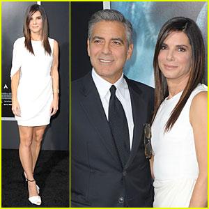 Sandra Bullock & George Clooney: 'Gravity' NYC Premiere!