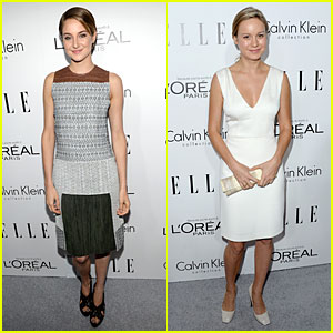 Shailene Woodley & Brie Larson: 'Elle' Women in Hollywood Celebration!