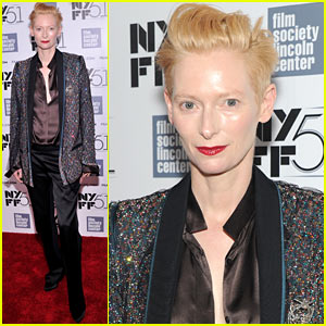 Tilda Swinton: 'Only Lovers Left Alive' NYFF Screening!
