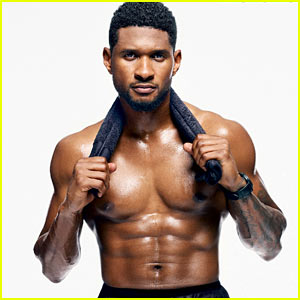 Usher: Shirtless for 'Men's Health' November 2013!