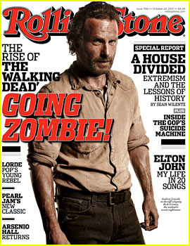 Walking Dead's Andrew Lincoln Covers 'Rolling Stone' as Rick!