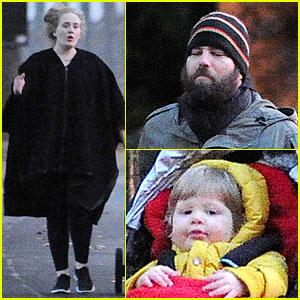 Adele gave kelly clarkson advice on having a baby