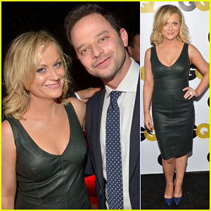 Amy Poehler & Nick Kroll: GQ Men of the Year Party!