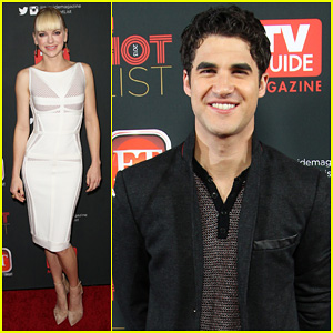 Anna Faris & Darren Criss: TV Guide's Hot List Party 2013
