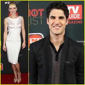Anna Faris & Darren Criss: TV Guide's Hot List Party 2013