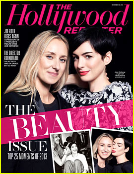 Anne Hathaway Covers The Hollywood Reporter's Beauty Issue