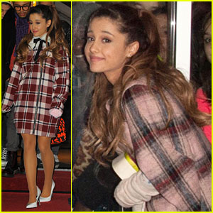 Ariana Grande Arrives in Amsterdam for MTV EMA's 2013