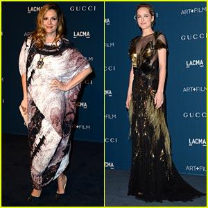 Drew Barrymore & Dakota Johnson - LACMA Art & Film Gala 2013