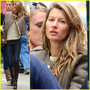 Gisele Bundchen Wishes Fans a Great Day!