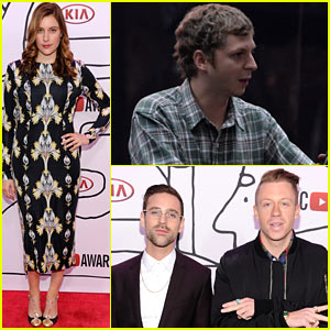Greta Gerwig & Michael Cera - YouTube Music Awards 2013
