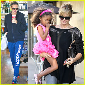 Heidi Klum: Happiness with Mom Erna!
