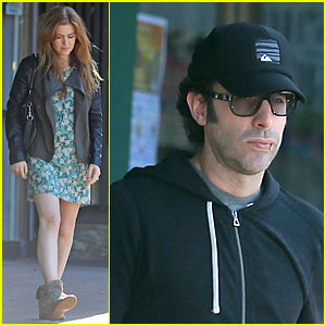 Isla Fisher & Sacha Baron Cohen: Katsuya Lunch with Parents!