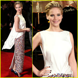Jennifer Lawrence: 'Catching Fire' London Premiere Red Carpet!