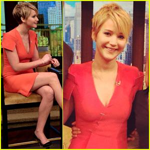 Jennifer Lawrence Talks Slobbery Kisses in 'Catching Fire'