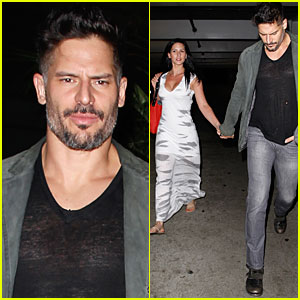 Joe Manganiello & Bridget Peters: Friday Movie Date!