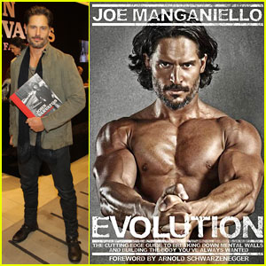 Joe Manganiello: 'Evolution' Book Available for Pre-Order!