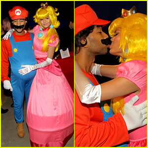 John Legend & Chrissy Teigen Dress Up in Super Mario Bros. Costumes for Birthday Party!