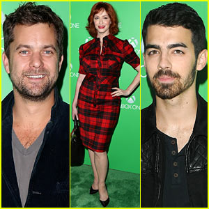 Joshua Jackson & Christina Hendricks: Xbox One Launch Party!