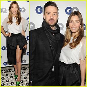 Justin Timberlake & Jessica Biel: GQ's Men of the Year Dinner!