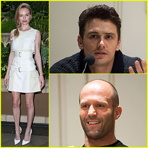 Kate Bosworth & James Franco: 'Homefront' Press Conference!