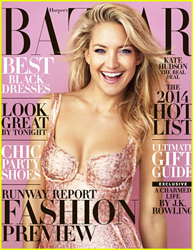 Kate Hudson to 'Harper's Bazaar': 'I'm Loving Becoming an Adult'