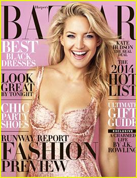 Kate Hudson to 'Harper's Bazaar': 'I'm Loving Becoming an Adult'