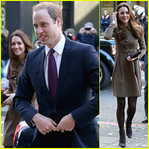 Kate Middleton & Prince William: Only Connect Charity Visit!
