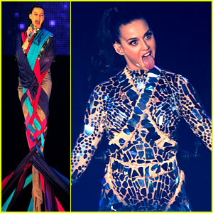 Katy Perry Performs 'Unconditionally' at MTV EMA 2013 (Video)